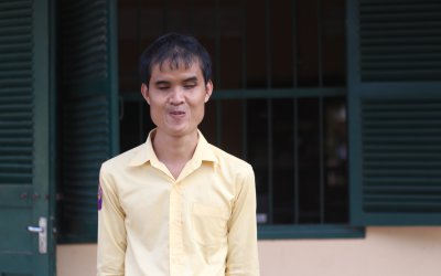 Positive Change about Young University Learner Borey SUN