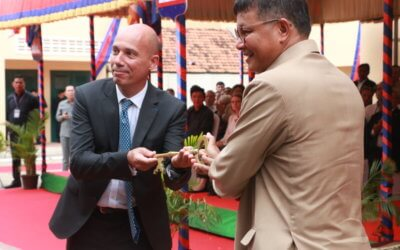 Official ceremony of transfer of the five special schools to the Cambodian government